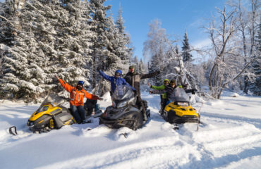 Book Snowmobiles activities in Baqueira Beret