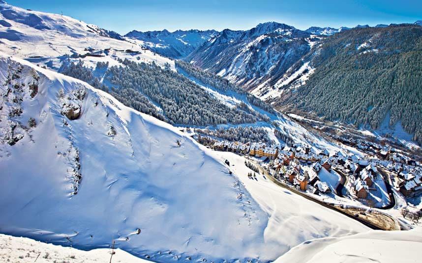 Baqueira Beret resort (Pyrenees)