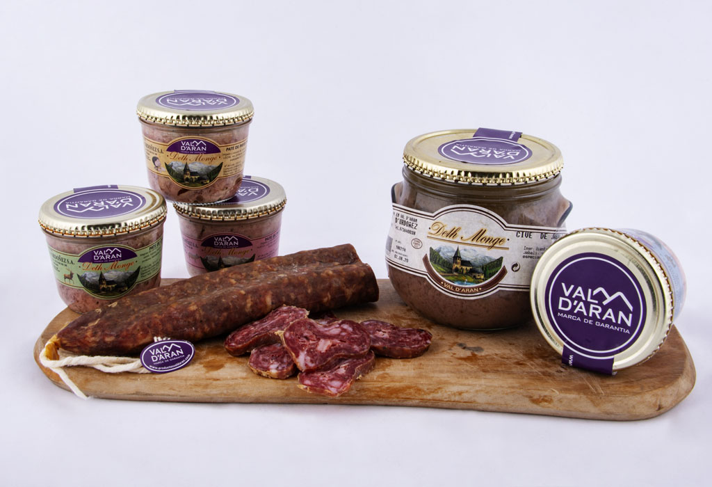 Local produce cured meats and pates